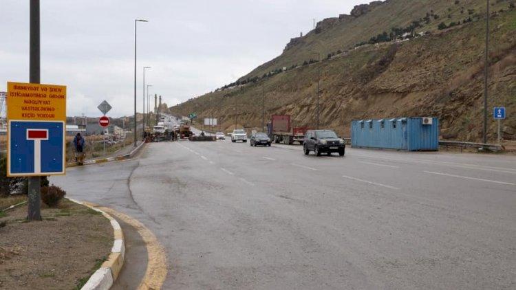 Sürücülərin NƏZƏRİNƏ: Bu yolda dəyişiklik edildi - Fotolar