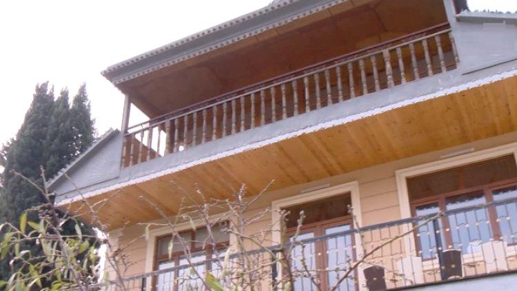 Xalq artistinin 3 mərtəbəli villasının görüntüləri yayıldı - Video