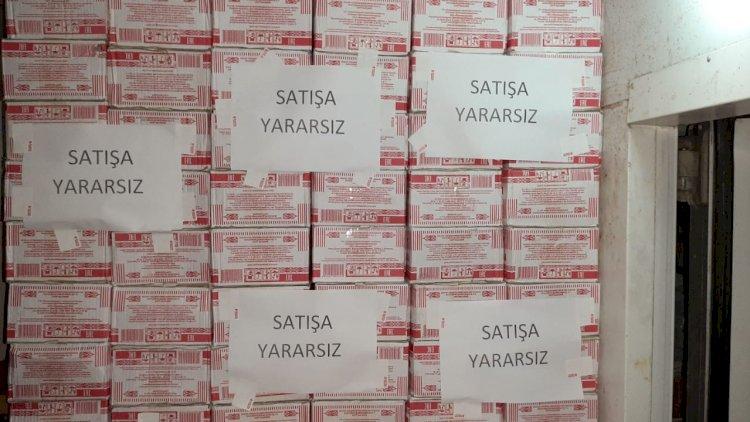 """""""Bizim market""""də 12 ton saxta kərə yağı aşkarlandı - Foto"""