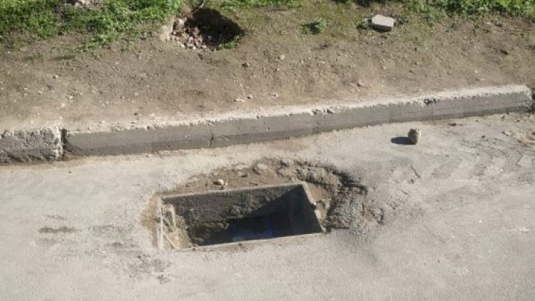 Bakıda kanalizasiya qapaqlarını kim oğurlayır? – Polisə müraciət olundu