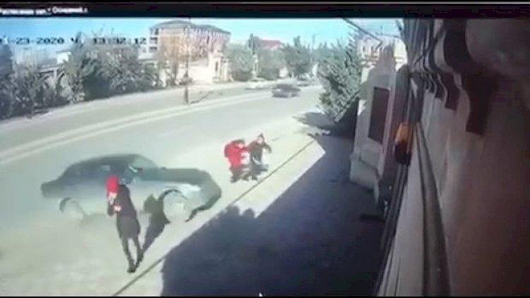 Xırdalanda məktəbliləri vuran sürücü tutuldu