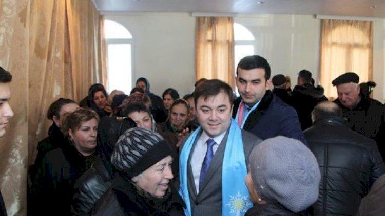 Deputatlığa namizəd Emin Hacıyev Yeni Azərbaycan Partiyasına və seçiciyə güvənir - VİDEO