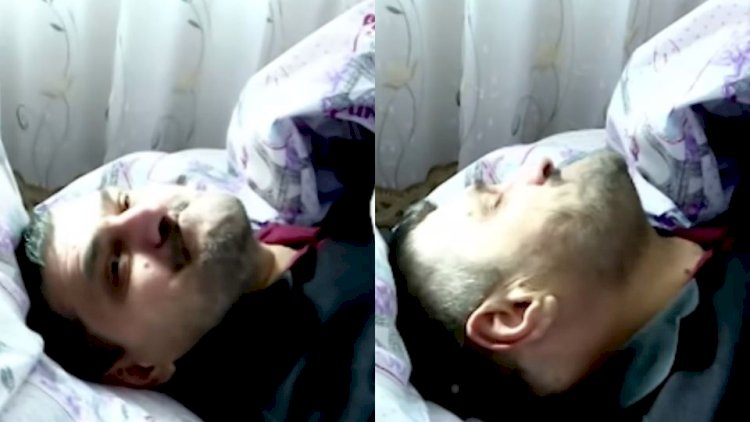 Ağır xəstəlikdən əziyyət çəkən Ağakərimin son halı - Heç kimi tanımır - Video
